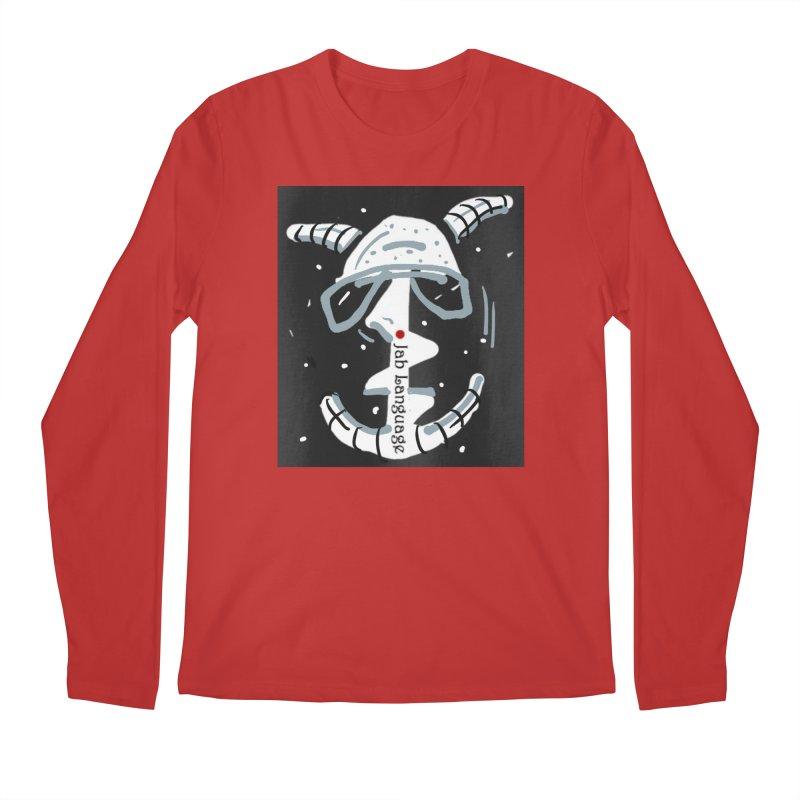 Jab Language Men's Regular Longsleeve T-Shirt by Mozayic's Artist Shop