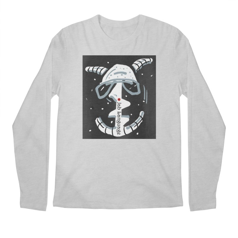 Jab Language Men's Regular Longsleeve T-Shirt by Mozayic's Artist Shop