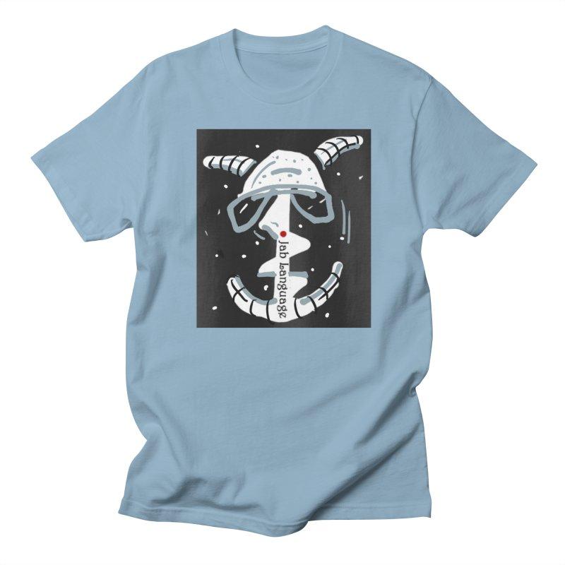 Jab Language Men's T-Shirt by Mozayic's Artist Shop
