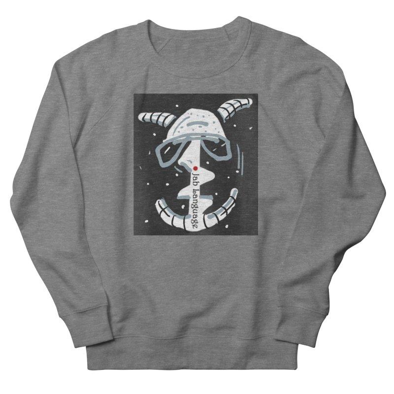 Jab Language Women's French Terry Sweatshirt by Mozayic's Artist Shop