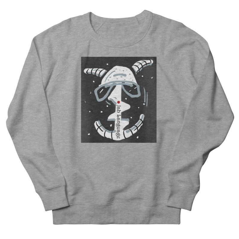 Jab Language Women's French Terry Sweatshirt by Mozayic's Artist Shop