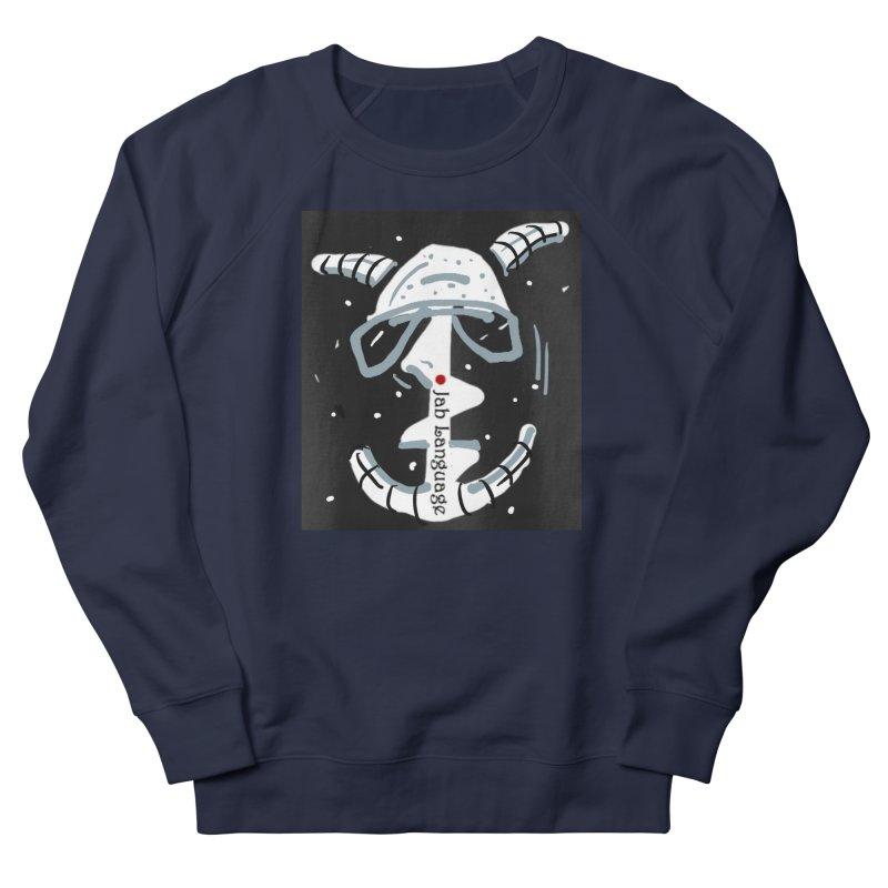 Jab Language Men's French Terry Sweatshirt by Mozayic's Artist Shop