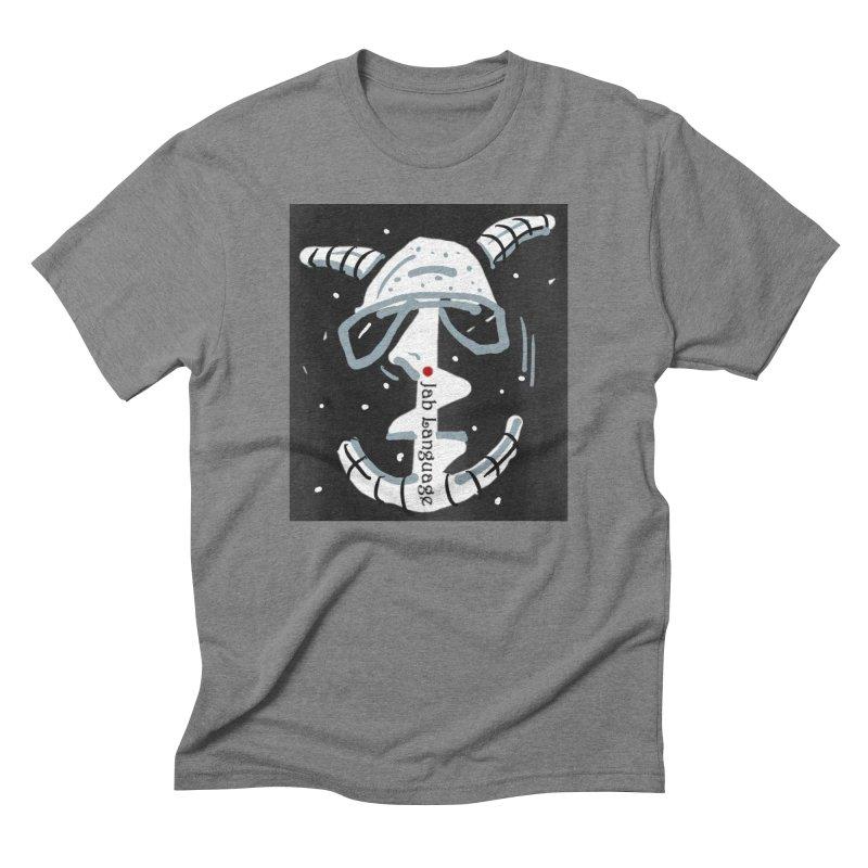 Jab Language Men's Triblend T-Shirt by Mozayic's Artist Shop