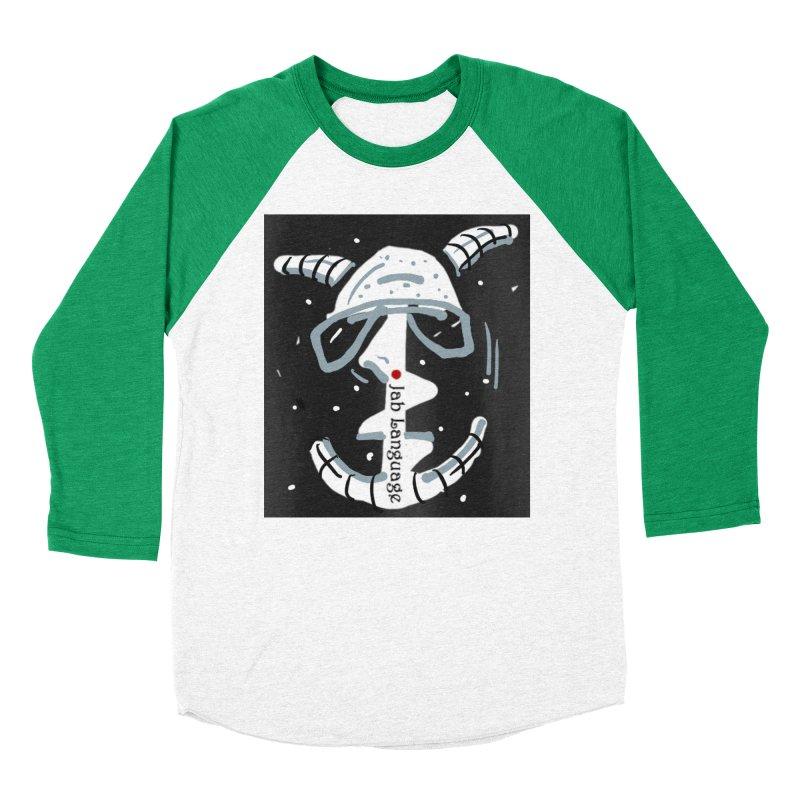 Jab Language Women's Baseball Triblend Longsleeve T-Shirt by Mozayic's Artist Shop