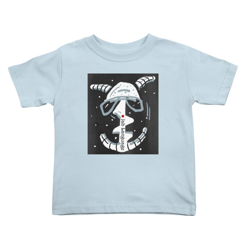 Jab Language Kids Toddler T-Shirt by Mozayic's Artist Shop