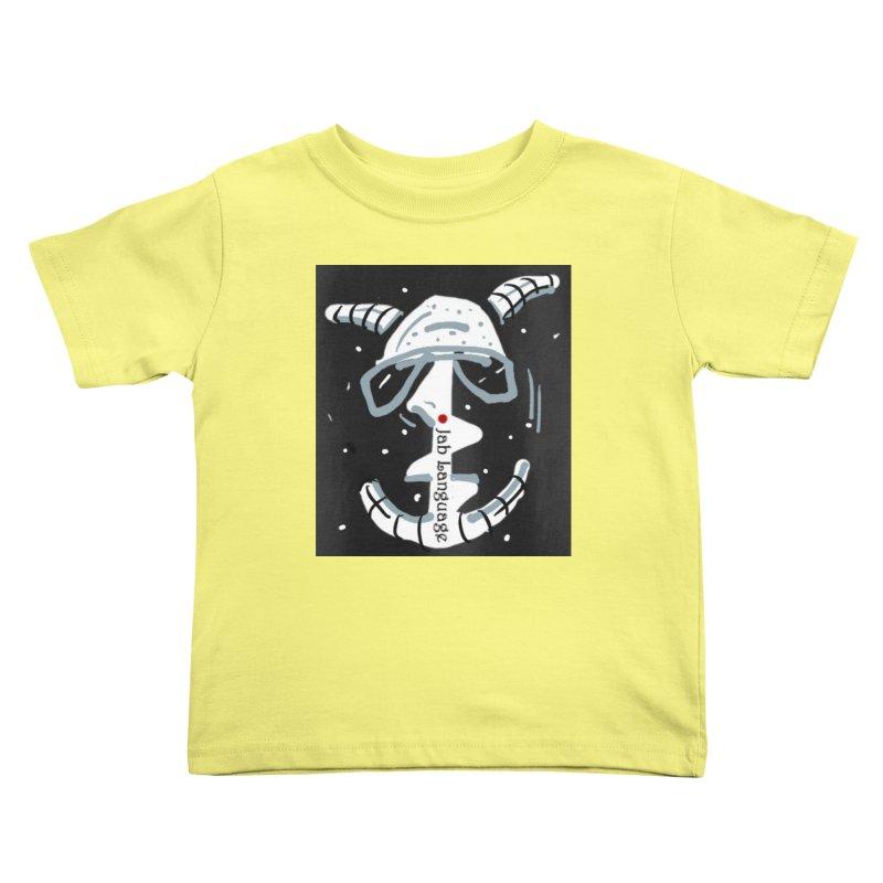 Jab Language Kids Toddler T-Shirt by Mozayic's Artist Shop