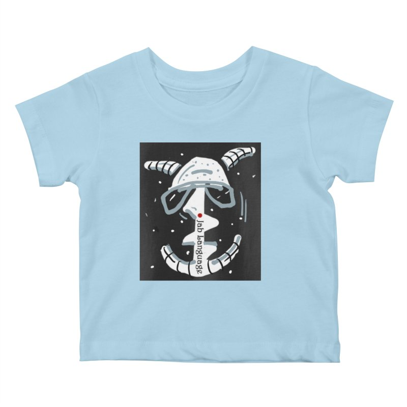 Jab Language Kids Baby T-Shirt by Mozayic's Artist Shop