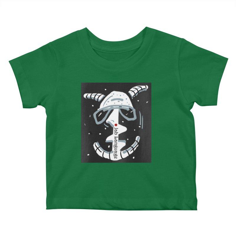 Jab Language Kids Baby T-Shirt by Mozayic's Artist Shop