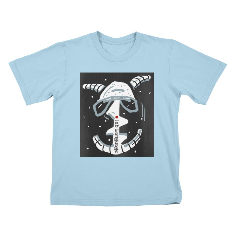 Jab Language Kids T-Shirt by Mozayic's Artist Shop