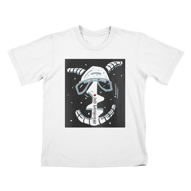 Jab Language Kids T-Shirt by Mozayic's Artist Shop