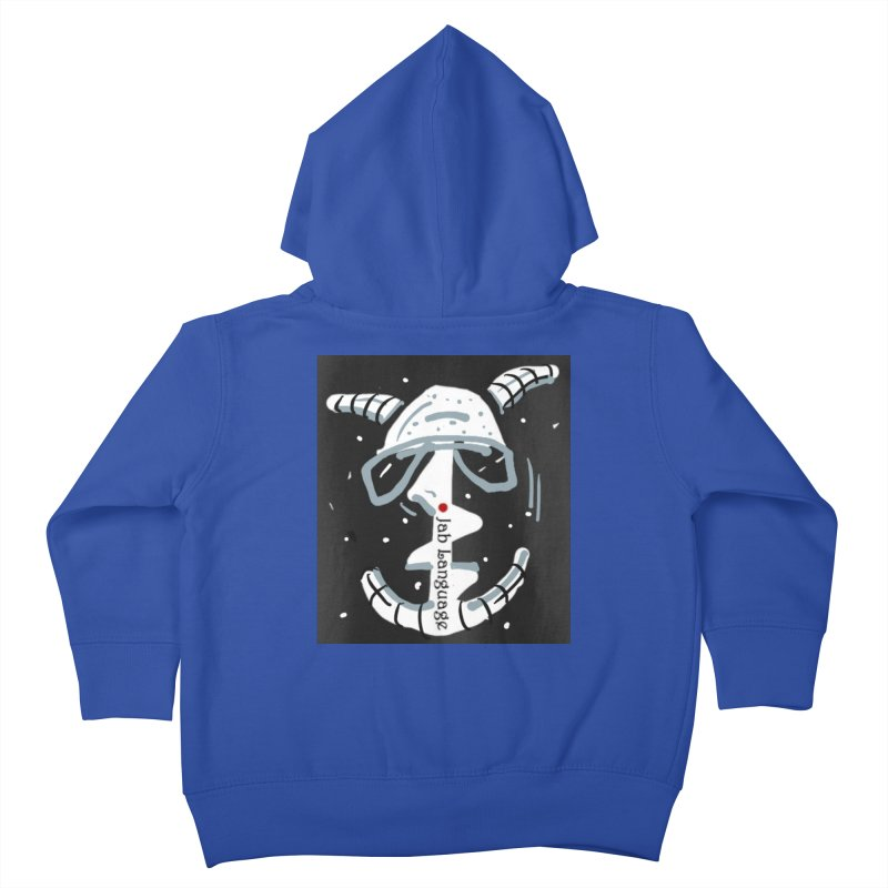 Jab Language Kids Toddler Zip-Up Hoody by Mozayic's Artist Shop