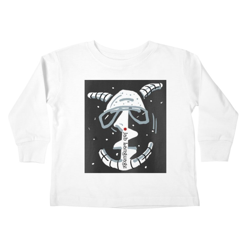 Jab Language Kids Toddler Longsleeve T-Shirt by Mozayic's Artist Shop