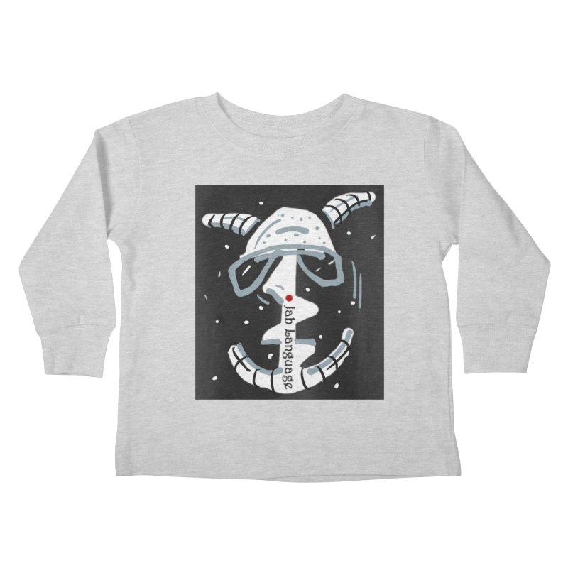 Jab Language Kids Toddler Longsleeve T-Shirt by Mozayic's Artist Shop