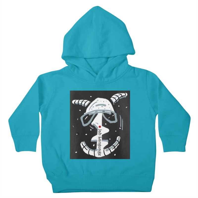 Jab Language Kids Toddler Pullover Hoody by Mozayic's Artist Shop