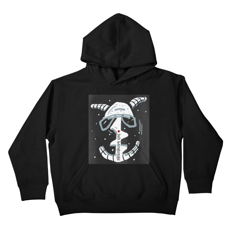 Jab Language Kids Pullover Hoody by Mozayic's Artist Shop