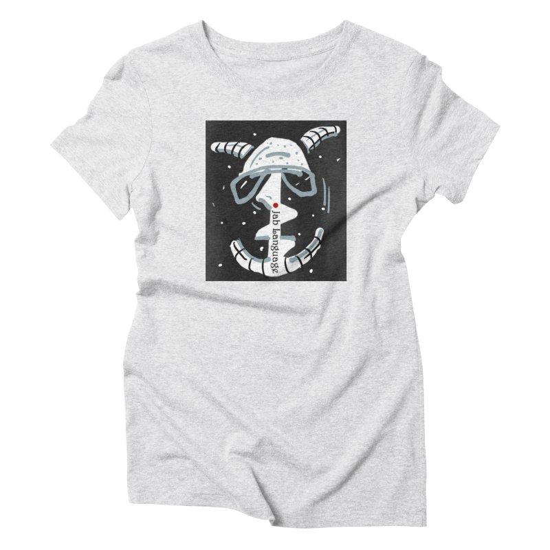 Jab Language Women's T-Shirt by Mozayic's Artist Shop