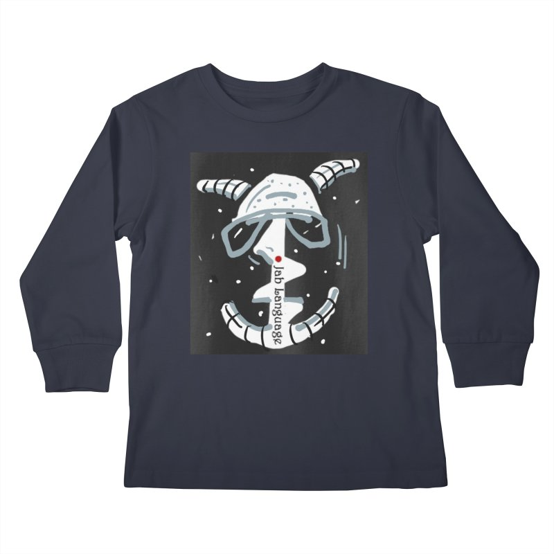 Jab Language Kids Longsleeve T-Shirt by Mozayic's Artist Shop