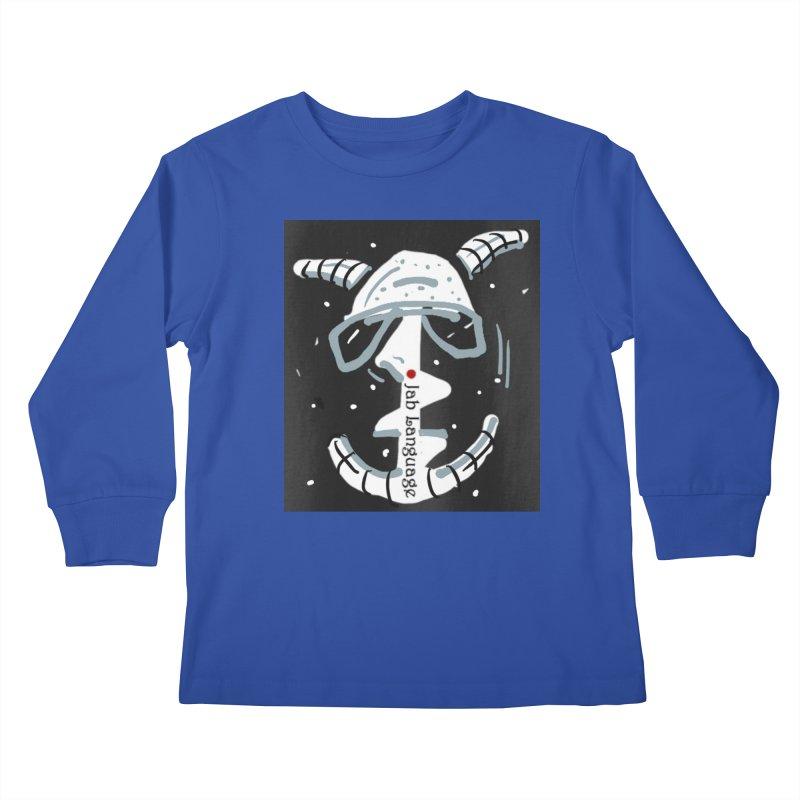Jab Language Kids Longsleeve T-Shirt by Mozayic's Artist Shop