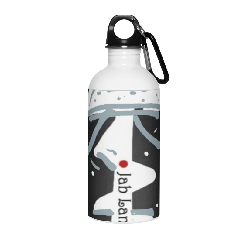 Jab Language Accessories Water Bottle by Mozayic's Artist Shop