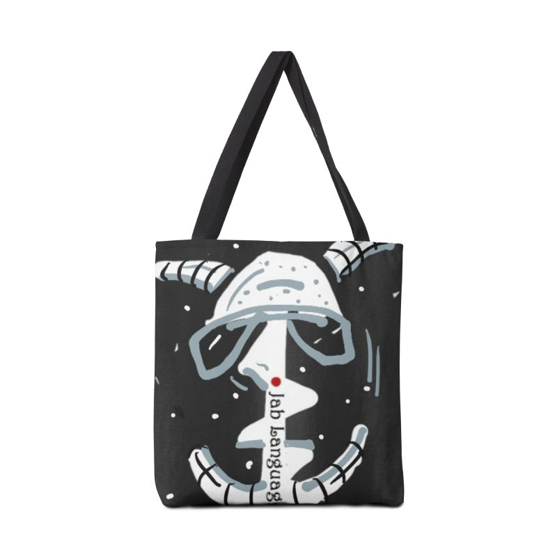 Jab Language Accessories Tote Bag Bag by Mozayic's Artist Shop