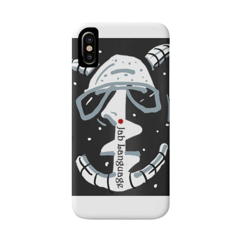 Jab Language Accessories Phone Case by Mozayic's Artist Shop