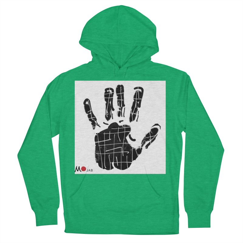 MO Jab Women's French Terry Pullover Hoody by Mozayic's Artist Shop