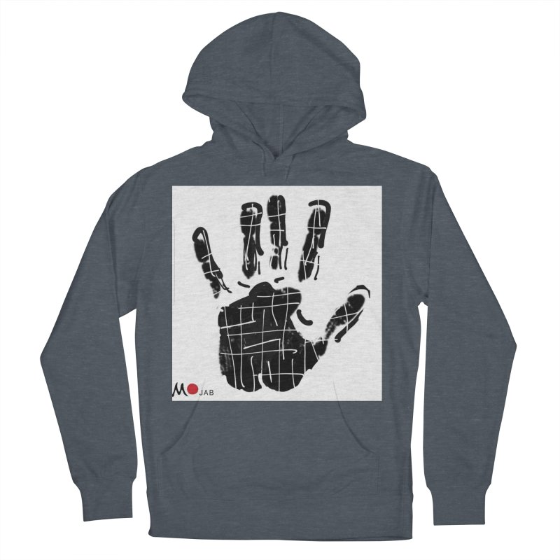 MO Jab Men's French Terry Pullover Hoody by Mozayic's Artist Shop