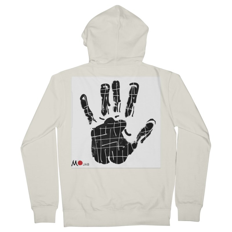 MO Jab Women's French Terry Zip-Up Hoody by Mozayic's Artist Shop