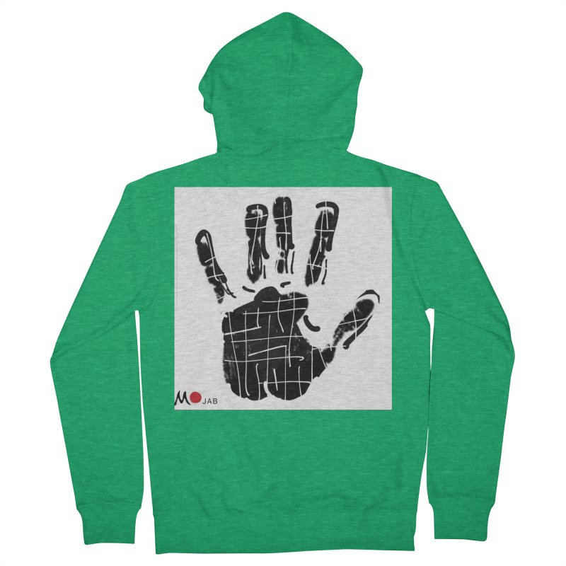 MO Jab Men's Zip-Up Hoody by Mozayic's Artist Shop