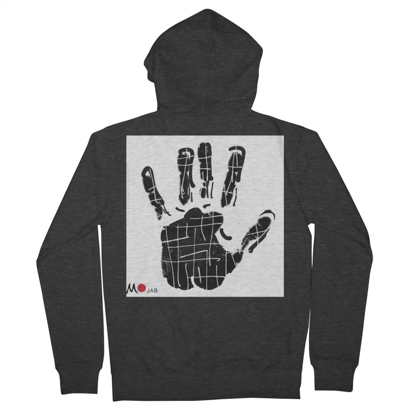 MO Jab Men's French Terry Zip-Up Hoody by Mozayic's Artist Shop