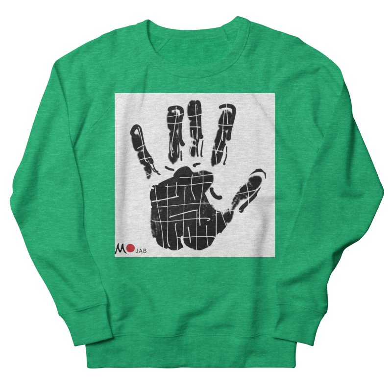 MO Jab Men's French Terry Sweatshirt by Mozayic's Artist Shop
