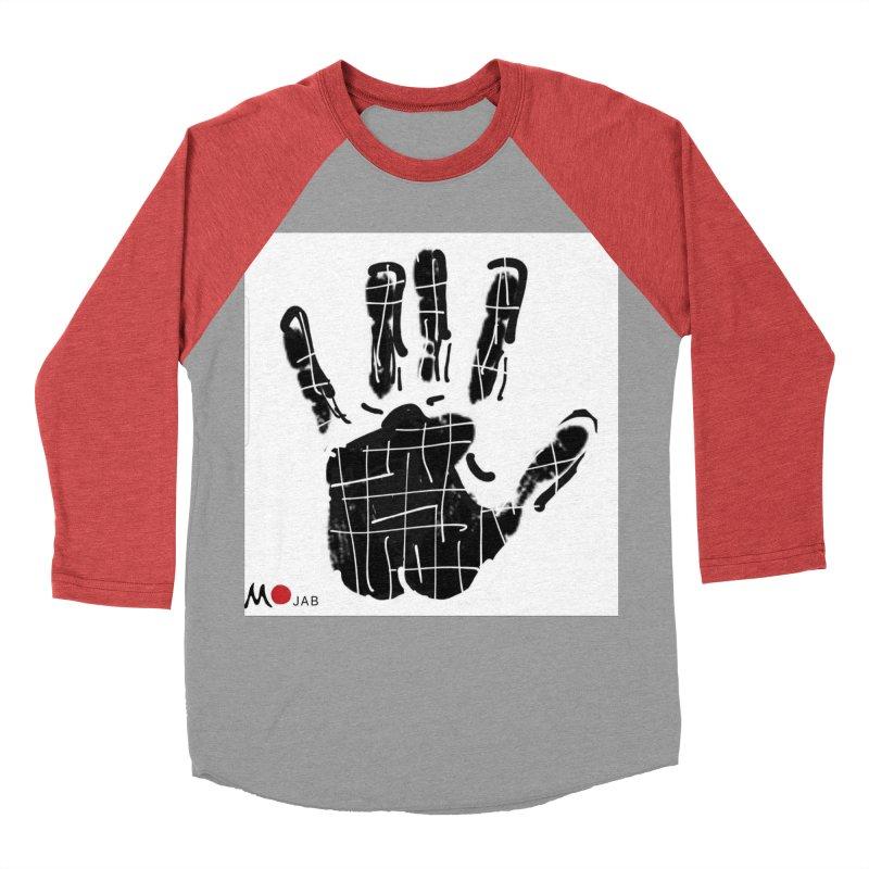 MO Jab Women's Baseball Triblend Longsleeve T-Shirt by Mozayic's Artist Shop