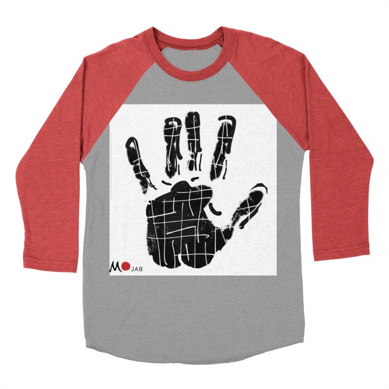 MO Jab Men's Baseball Triblend Longsleeve T-Shirt by Mozayic's Artist Shop