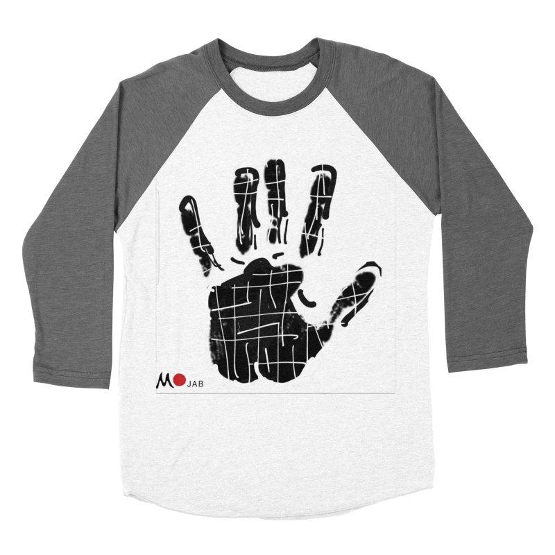 MO Jab Men's Baseball Triblend Longsleeve T-Shirt by Mozayic's Artist Shop