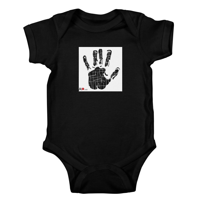 MO Jab Kids Baby Bodysuit by Mozayic's Artist Shop