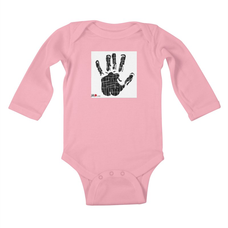 MO Jab Kids Baby Longsleeve Bodysuit by Mozayic's Artist Shop
