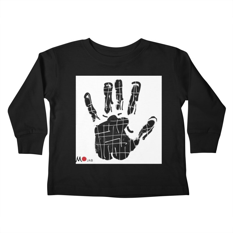 MO Jab Kids Toddler Longsleeve T-Shirt by Mozayic's Artist Shop