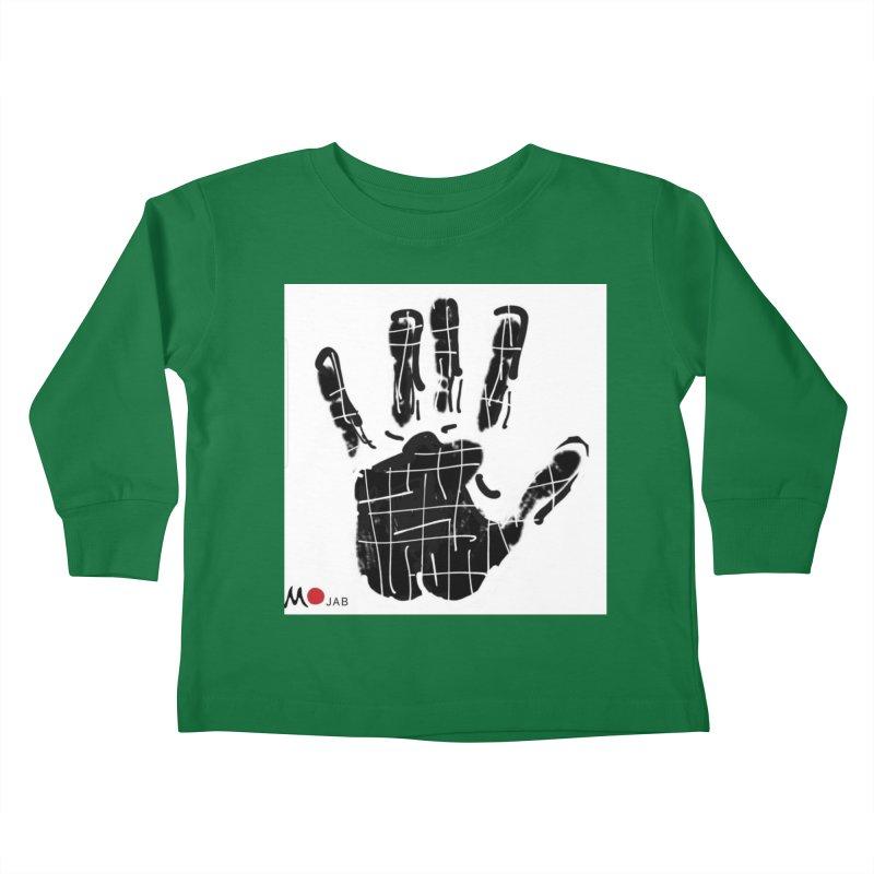 MO Jab Kids Toddler Longsleeve T-Shirt by Mozayic's Artist Shop