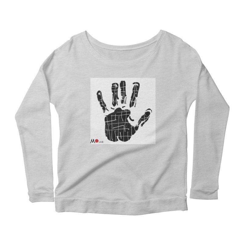 MO Jab Women's Scoop Neck Longsleeve T-Shirt by Mozayic's Artist Shop