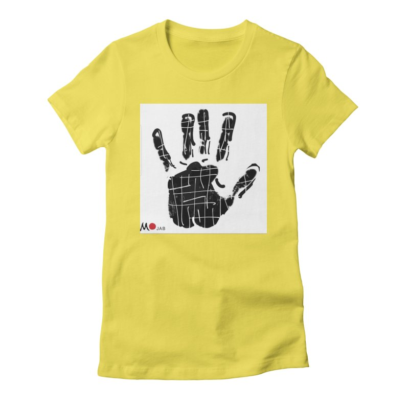 MO Jab Women's Fitted T-Shirt by Mozayic's Artist Shop