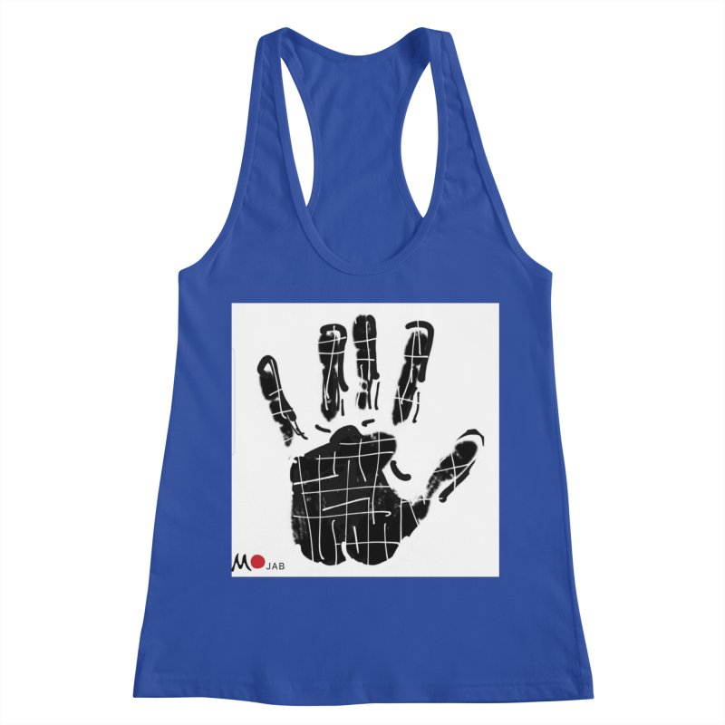 MO Jab Women's Racerback Tank by Mozayic's Artist Shop