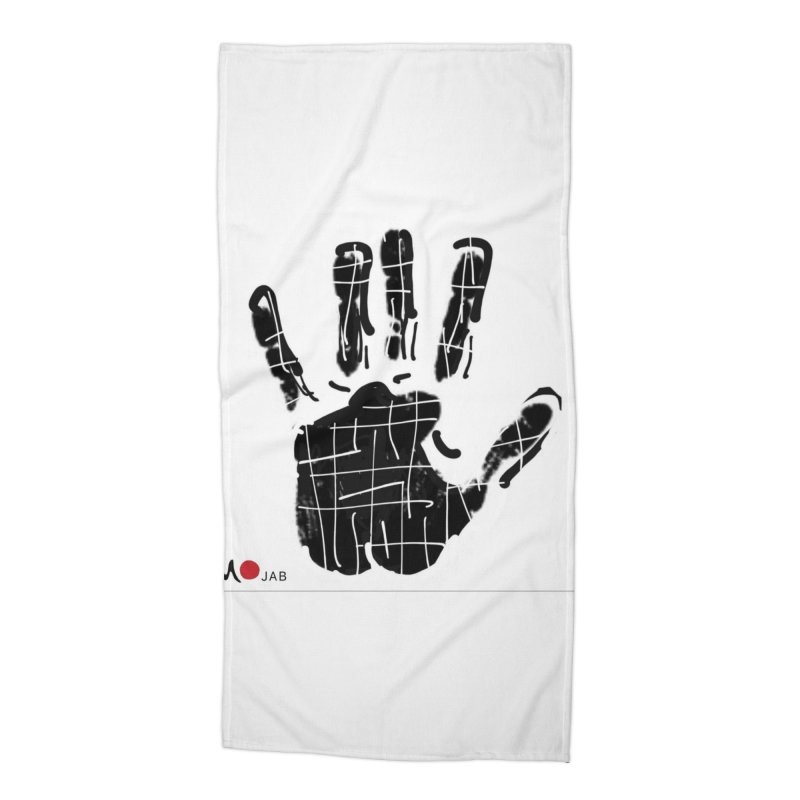 MO Jab Accessories Beach Towel by Mozayic's Artist Shop