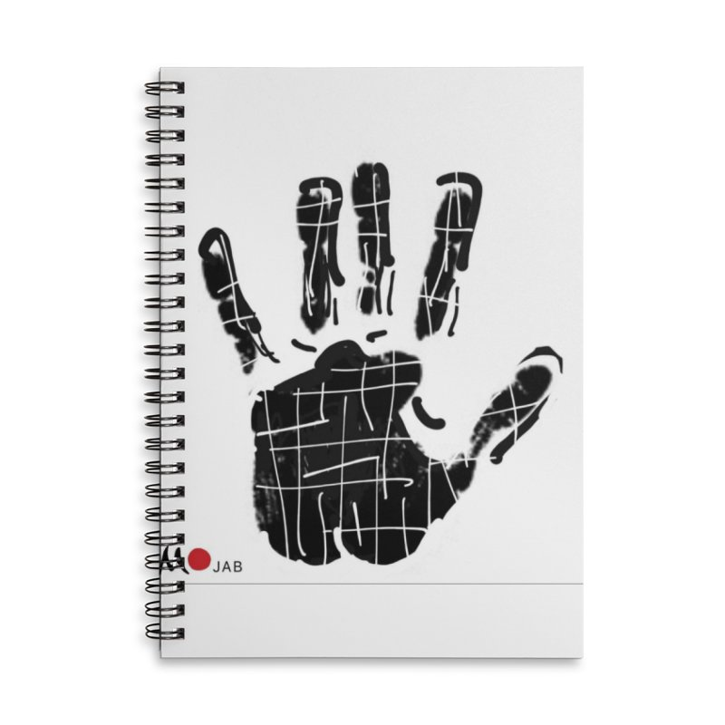 MO Jab Accessories Lined Spiral Notebook by Mozayic's Artist Shop