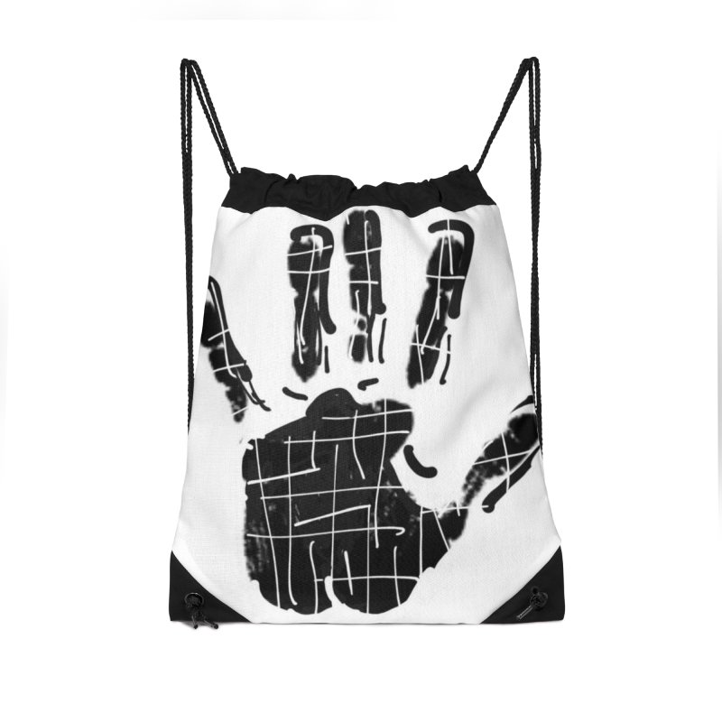 MO Jab Accessories Drawstring Bag Bag by Mozayic's Artist Shop