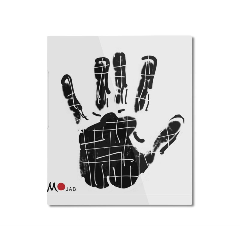 MO Jab Home Mounted Aluminum Print by Mozayic's Artist Shop
