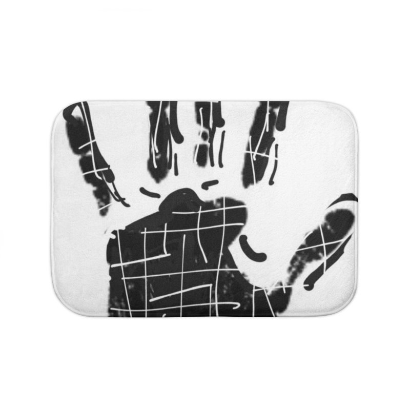 MO Jab Home Bath Mat by Mozayic's Artist Shop