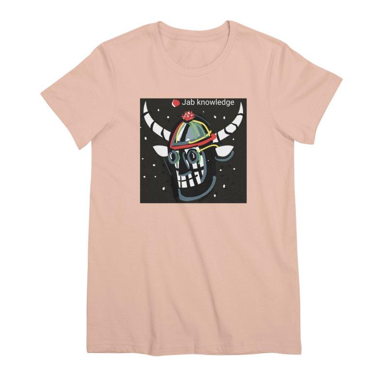 Jab knowledge Women's Premium T-Shirt by Mozayic's Artist Shop