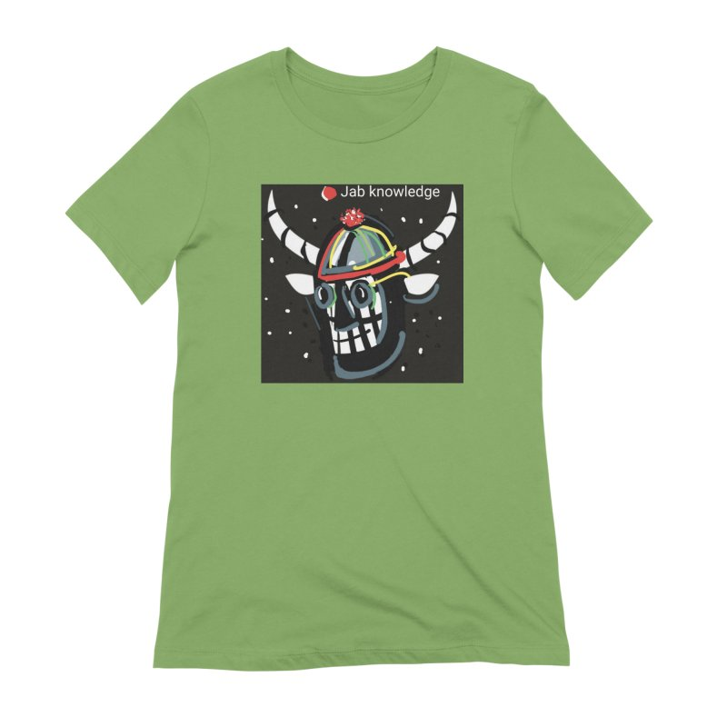 Jab knowledge Women's Extra Soft T-Shirt by Mozayic's Artist Shop