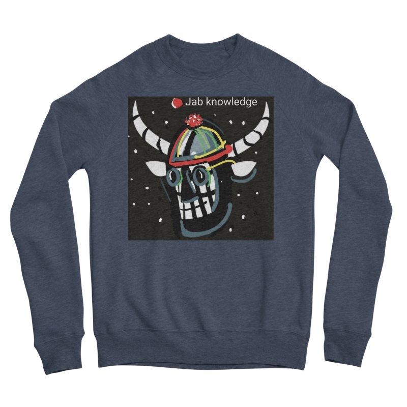 Jab knowledge Men's Sponge Fleece Sweatshirt by Mozayic's Artist Shop