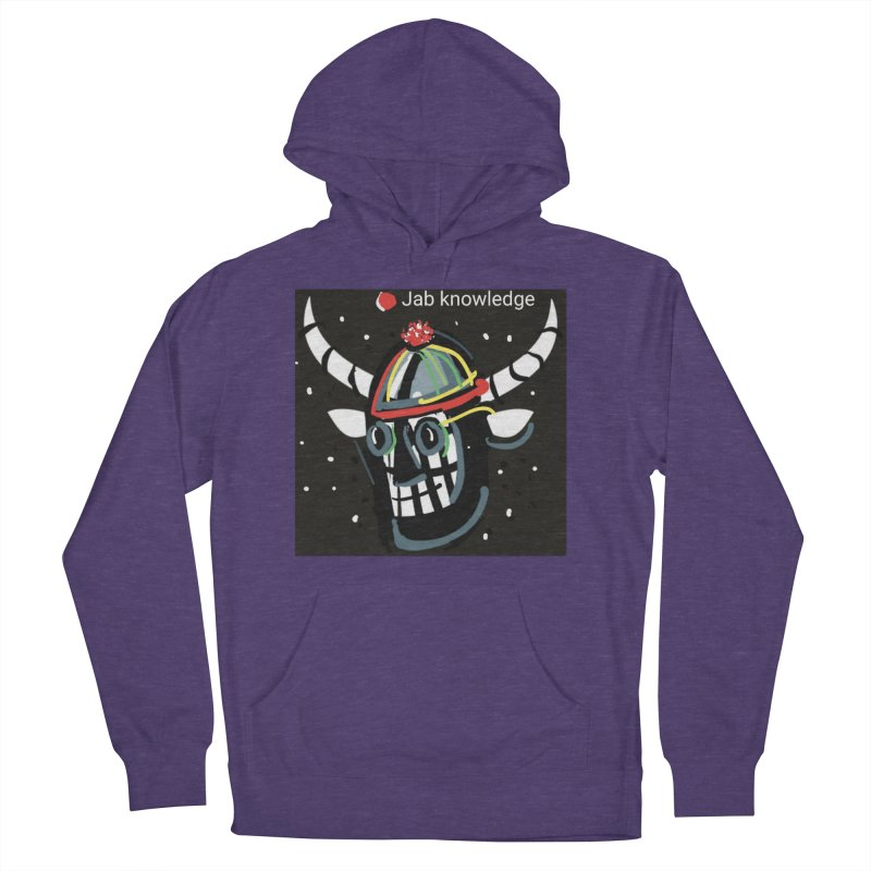 Jab knowledge Men's French Terry Pullover Hoody by Mozayic's Artist Shop
